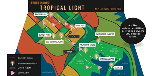 Bruce Munro:Tropical Light Industry Briefing