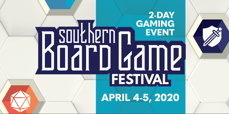 Southern Board Game Festival 2020 tickets