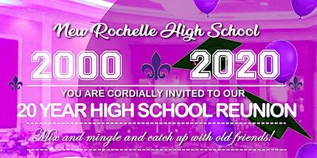 New Rochelle High School Class of 2000 20 Year Reunion tickets