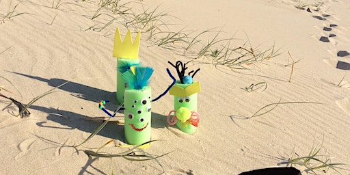 Sans Souci Library - School Holiday Activity - Pool Noodle Monsters