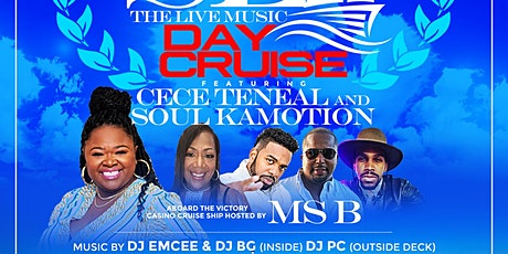 R&B AT SEA with CECE TENEAL and SOUL KAMOTION tickets