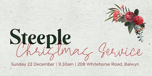 Steeple Christmas Service