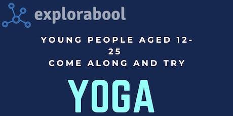 Explorabool: Yoga tickets