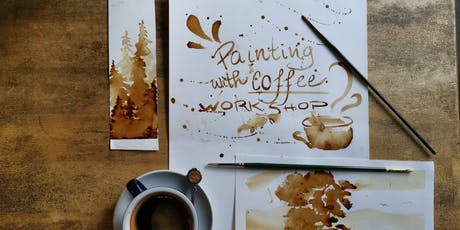 Painting with coffee workshop! tickets