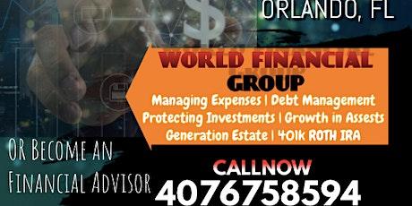 World Financial Group Financial Seminar tickets