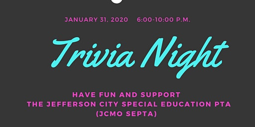 Trivia Night for JCMO SEPTA!