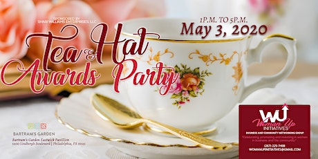 "WomanUp Initiatives Tea and Hat Awards Party 2020-""It's Time to Unwind"" tickets"