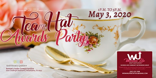"""WomanUp Initiatives Tea and Hat Awards Party 2020-""""It's Time to Unwind"""""""