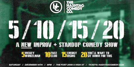 5, 10, 15, 20: an Improv Comedy Show tickets