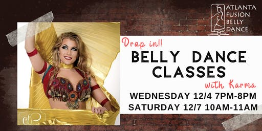 Drop in Belly Dance classes with Karma at AFBD
