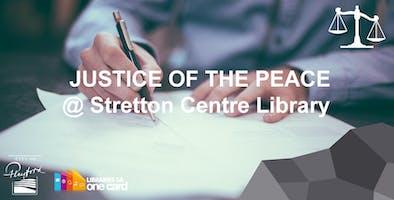 JP @ Stretton Centre Library, Monday 10AM-12PM