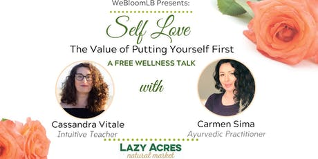 Self Love_The Value of Putting Yourself First tickets