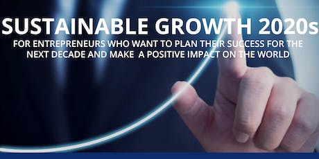 SUSTAINABLE GROWTH 2020s tickets