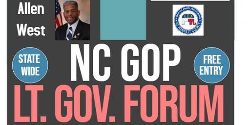 NC GOP Lt Governor Candidate Forum