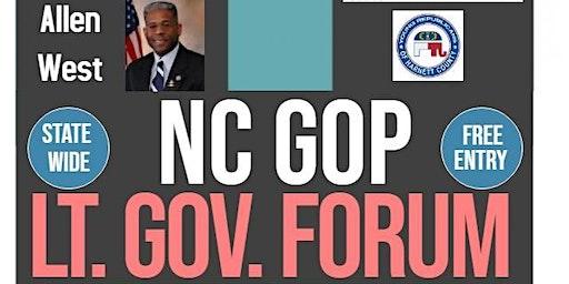 NC GOP Lt Governor Candidate Forum
