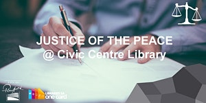 JP @ Civic Centre Library, Thursday 3.30 - 5.30PM
