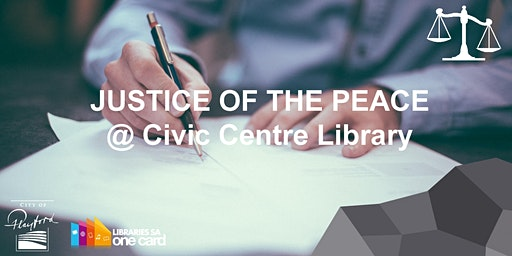 JP @ Civic Centre Library, Thursday 3.30 - 5.30PM