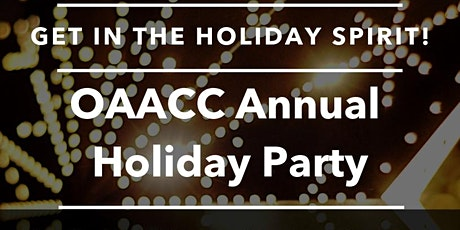 OAACC Annual Membership Party 2019 tickets