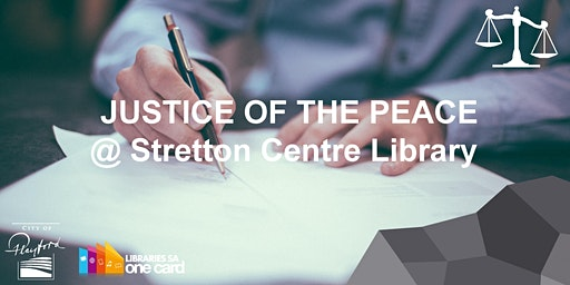 JP @ Stretton Centre Library, Tuesday 12-2pm