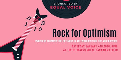 Rock for Optimism tickets