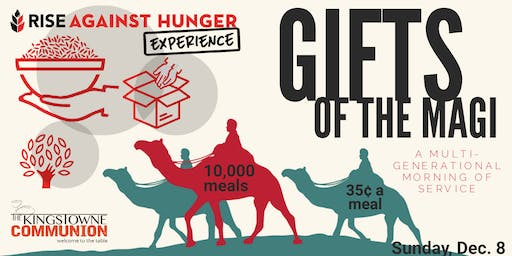 Gifts of the Magi Meal-Packing Event