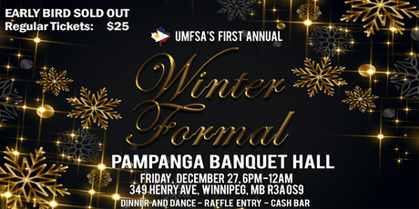 UMFSA Winter Formal tickets