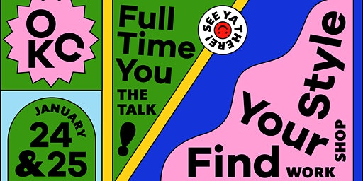 AIGA OK: Full Time You with Meg Lewis + Finding Your Style Workshop!