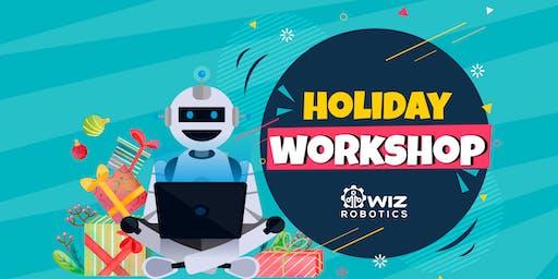 Wiz Robotics Kids Holiday Workshop