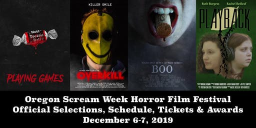 Oregon Scream Week Horror Film Festival: Winter 20