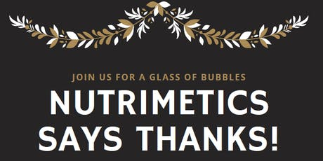 Nutrimetics says THANKS! tickets