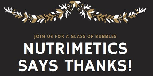 Nutrimetics says THANKS!