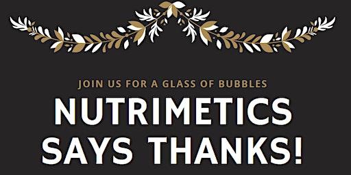 Nutrimetics says THANKS!