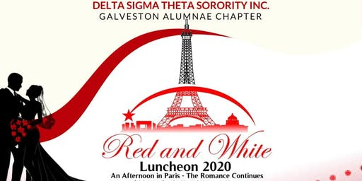 Galveston Alumnae Red and White Luncheon