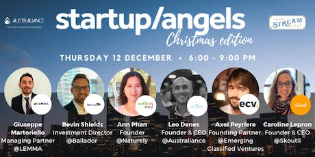 Startup&Angels Sydney #17 - Christmas edition tickets