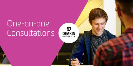 Warrnambool Campus One-on-One Consultations, Deakin University