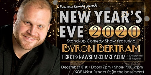 New Years Eve 2020 Comedy Show f. Byron Bertam & Special Guests