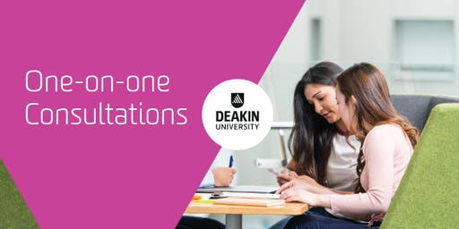 Geelong Waterfront Campus One-on-One Consultations, Deakin University
