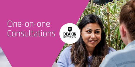 Deakin Downtown Melbourne (CBD) One-on-one Consultations, Deakin University  tickets