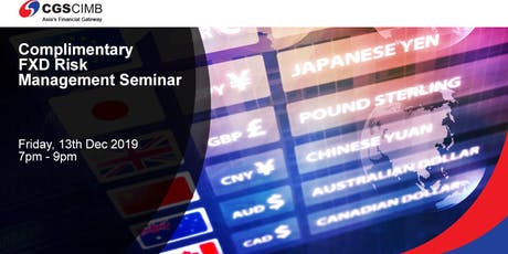 Complimentary Forex Risk Management Seminar tickets