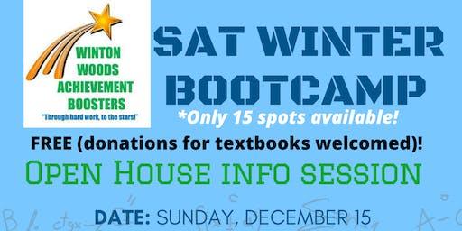SAT Winter Bootcamp