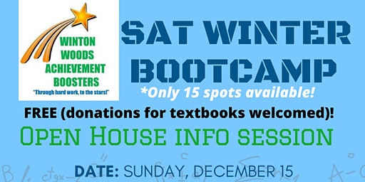 SAT Winter Bootcamp