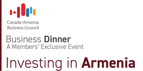 Investing in Armenia - Private Equity and beyond tickets