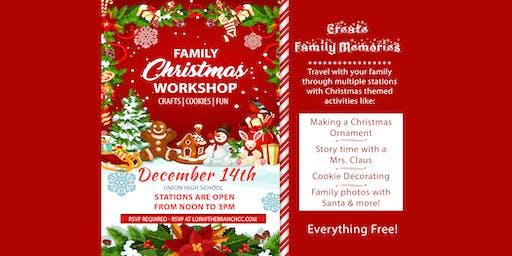 Free Family Christmas Workshop