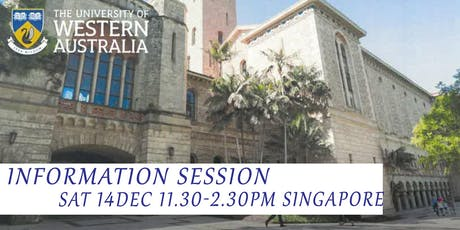 Meet The University of Western Australia in Singapore tickets