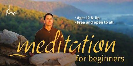 Meditation for Beginners in Wynnewood ,PA tickets