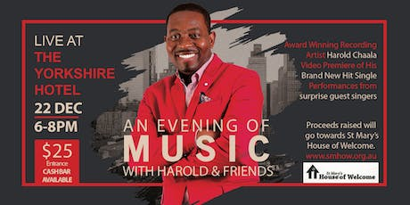 An Evening Of Music With Harold & Friends  tickets