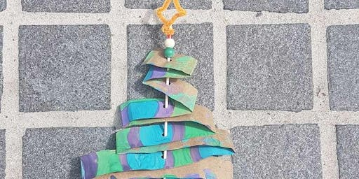 Painted Christmas Tree Wands