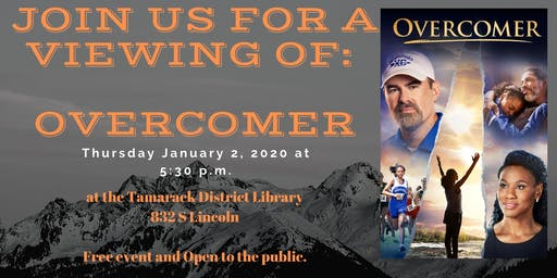Movie showing of Overcomer Rated PG