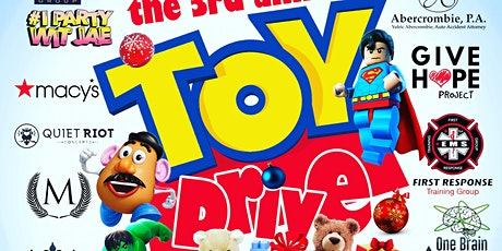 3rd Annual TOY DRIVE tickets