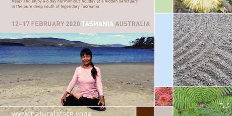 Natural State Holiday- Yantra Yoga & Wellbeing, Tasmania Australia Feb 2020 tickets